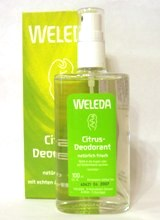 Citrusový deodorant WELEDA 100 ml