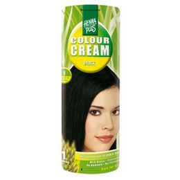 Prírodná krémová farba na vlasy - Čierna 1  d985595285b